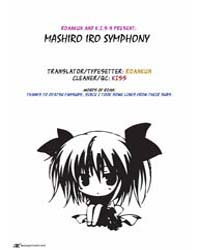 Mashiroiro Symphony 1 Volume No. 1 by Palette