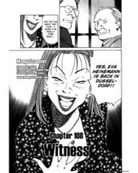 Monster 108 : Witness Volume Vol. 108 by Urasawa, Naoki