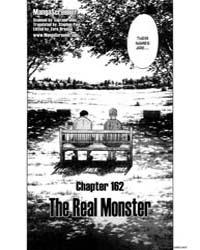Monster 162 : the Real Monster Volume Vol. 162 by Urasawa, Naoki