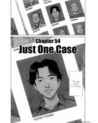 Monster 54 : Just One Case Volume Vol. 54 by Urasawa, Naoki