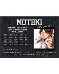 Moteki 4: Love is Always Like an Illusio... Volume No. 4 by Mitsurou, Kubo