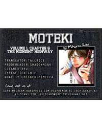 Moteki 6: the Midnight Highway Volume No. 6 by Mitsurou, Kubo
