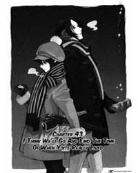 Nabari No Ou 43: I Think We'Ll Go and Fi... Volume Vol. 43 by Kamatani, Yuhki