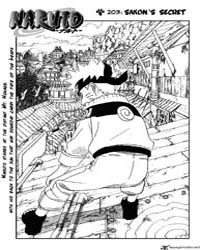 Naruto 203 : Sakon's Secret Volume No. 203 by Kishimoto, Masashi