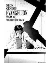 Neon Genesis Evangelion 54: the Birth of... Volume Vol. 54 by Sadamoto, Yoshiyuki