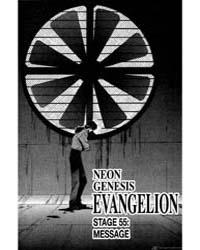 Neon Genesis Evangelion 55: Message Volume Vol. 55 by Sadamoto, Yoshiyuki