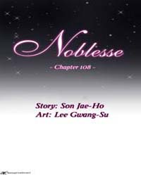 Noblesse 108 Volume No. 108 by Son, Jae-ho