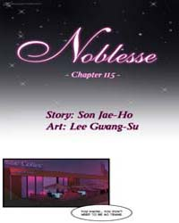 Noblesse 115 Volume No. 115 by Son, Jae-ho