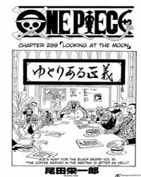 One Piece 289 : Looking at the Moon Volume No. 289 by Oda, Eiichiro