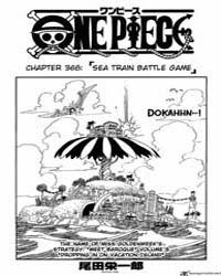 One Piece 368 : Sea Train Battle Game Volume No. 368 by Oda, Eiichiro