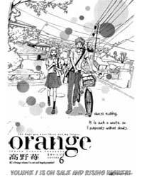 Orange (Takano Ichigo) 6 Volume Vol. 6 by Ichigo, Takano