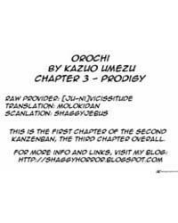 Orochi 3 : Prodigy Volume Vol. 3 by Umezu, Kazuo