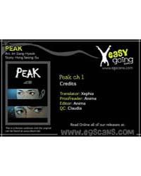 Peak (Im Gang-hyeok) 1 Volume Vol. 1 by Seong-su, Hong