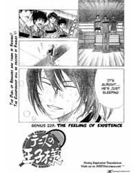 Prince of Tennis 223 : Feeling of Existe... Volume Vol. 223 by Konomi, Takeshi