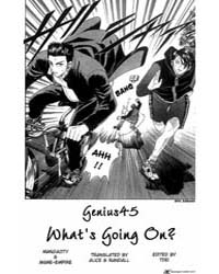 Prince of Tennis 45 : Whats Going on Volume Vol. 45 by Konomi, Takeshi