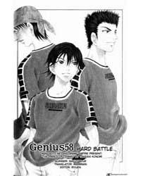 Prince of Tennis 58 : a Hard Battle Volume Vol. 58 by Konomi, Takeshi