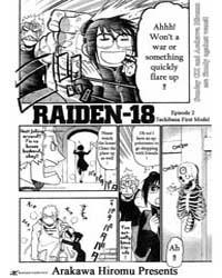 Raiden-18 2 Volume Vol. 2 by Hiromu, Arakawa