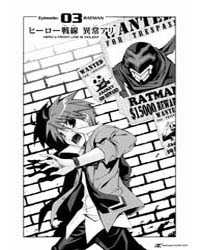 Ratman 3 : Hero's Front Line is Violent Volume Vol. 3 by Sekihiko, Inui