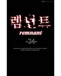Remnant 24 Volume Vol. 24 by Taerang