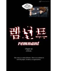 Remnant 36: End Volume Vol. 36 by Taerang