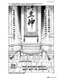 Rurouni Kenshin 80 : the Katana Forbidde... Volume Vol. 80 by Nobuhiro, Watsuki
