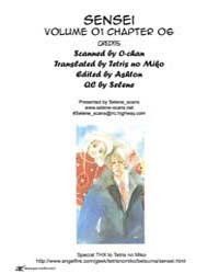Sensei 6 Volume No. 6 by Kazune, Kawahara