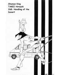 Shaman King 268 : Handling the Desert Volume Vol. 268 by Hiroyuki, Takei