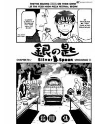 Silver Spoon 10 : Spring Roll 10 Volume Vol. 10 by Hiromu, Arakawa