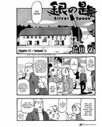 Silver Spoon 47 : Autumn 16 Volume Vol. 47 by Hiromu, Arakawa