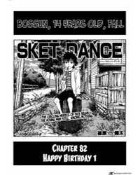 Sket Dance 82: Happy Birthday 1 Volume Vol. 82 by Kenta, Shinohara