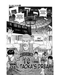 Slam Dunk 168 : Taokas Dream Volume Vol. 168 by Takehiko, Inoue