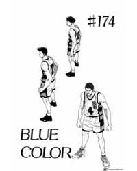 Slam Dunk 174 : Blue Color Volume Vol. 174 by Takehiko, Inoue