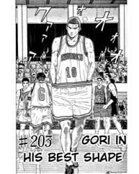 Slam Dunk 203 : Gorilla in His Best Shap... Volume Vol. 203 by Takehiko, Inoue