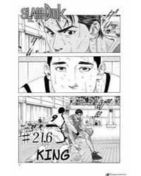 Slam Dunk 216 : King Volume Vol. 216 by Takehiko, Inoue