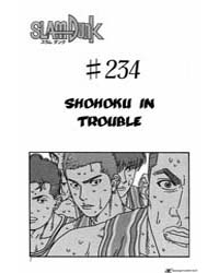 Slam Dunk 234 : Shohoku in Trouble Volume Vol. 234 by Takehiko, Inoue