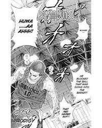 Slam Dunk 252 : Prodigy Volume Vol. 252 by Takehiko, Inoue