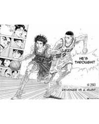 Slam Dunk 260 : Revenge is a Must Volume Vol. 260 by Takehiko, Inoue