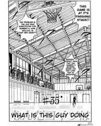 Slam Dunk 35 : What is This Guy Doing Volume Vol. 35 by Takehiko, Inoue
