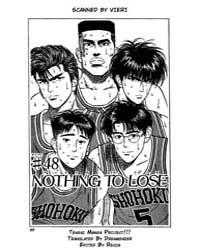 Slam Dunk 48 : Nothing to Lose Volume Vol. 48 by Takehiko, Inoue