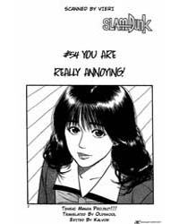 Slam Dunk 54 : You Are Really Annoying! Volume Vol. 54 by Takehiko, Inoue