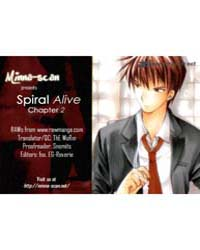 Spiral Alive 2: it's Not a Time to Smile Volume No. 2 by Kyou, Shirodaira