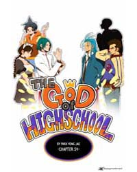 The God of High School 54 Volume Vol. 54 by Yong-je, Park