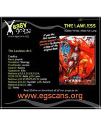 The Lawless 5 Volume No. 5 by Fuk-lung, Khoo