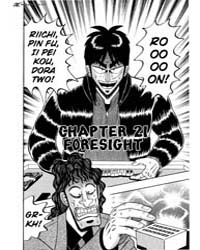 Tobaku Datenroku Kaiji 21 : Foresight Volume Vol. 21 by Nobuyuki, Fukumoto