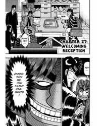 Tobaku Datenroku Kaiji 27 : Welcoming Re... Volume Vol. 27 by Nobuyuki, Fukumoto