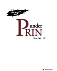 Under Prin 40 Volume Vol. 40 by