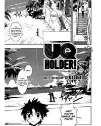 Uq Holder! 12 Volume No. 12 by Ken, Akamatsu
