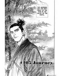 Vagabond 105: Journey Volume Vol. 105 by Inoue, Takehiko