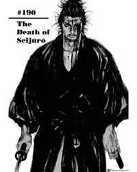Vagabond 190: the Death of Seijuro Volume Vol. 190 by Inoue, Takehiko