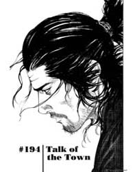 Vagabond 194: Talk of the Town Volume Vol. 194 by Inoue, Takehiko